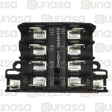 Contactor 230V 16A 3NO/1NC AC3 400V 4kW 8.4A