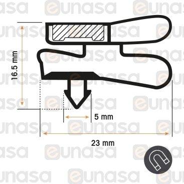 Burlete 1705x575mm Pvc Blanco