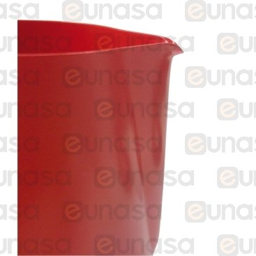Jarra Leche Roja Antiadherente 0.35L
