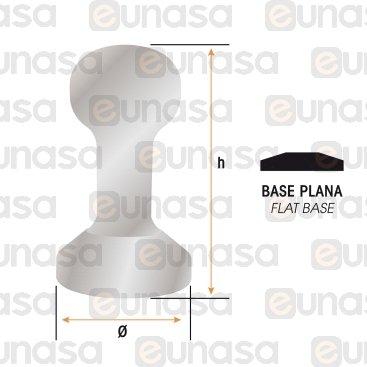 """Tamper Aluminio Base Plana Ø58mm """"SFERA"""""""