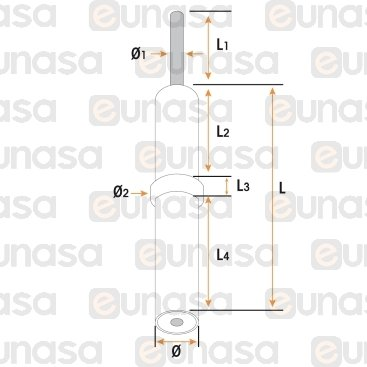 Bujia Encendido M4 Ø7x57.5mm