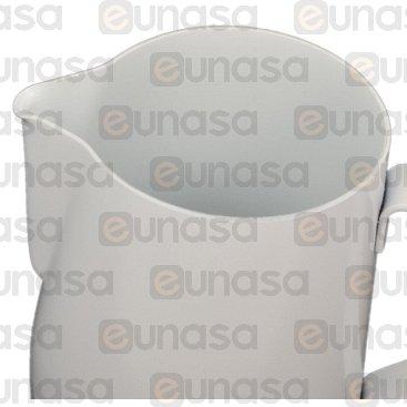 Jarra Leche Professional Teflón Blanca 0.9L