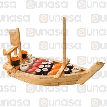 Barco Para Presentación Sushi 500x200x310mm
