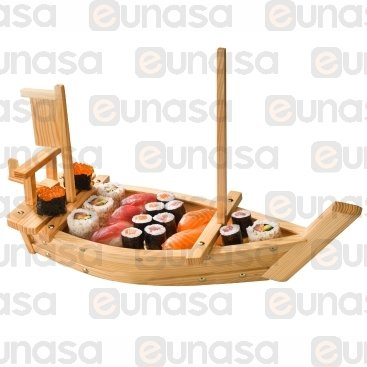 Wooden Sushi Boat 700x255x455mm