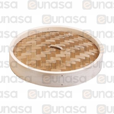 Tapa Para Vaporera Bambú Ø150mm - h:35mm