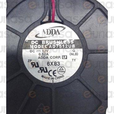 Ventilador Centrífugo 6.24W 12V Dc 22.26m³/h