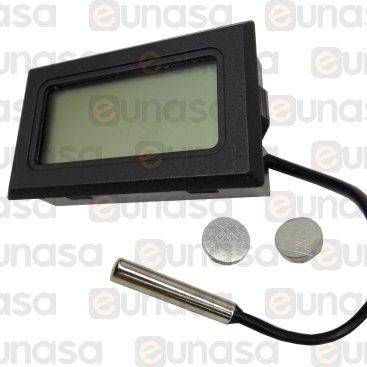 Termómetro -50°C/+70°C 44x26mm Capilar 1500mm