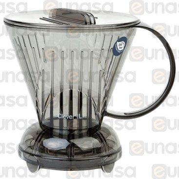 Cono Goteo Coffee Dripper Gris Clever