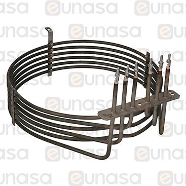 Resistencia Horno 7800W 230V Ø280mm