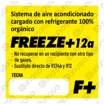 Gas Refrigerante Orgánico FREEZE+12A 750ml