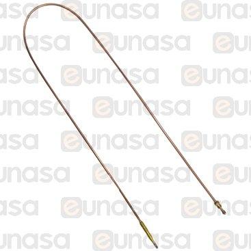 Termopar Cabeza Lisa M8x1 1000 (10 UNIDADES)