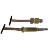 Thermocouple M9x1 600mm Threaded Head M6x0.75