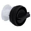 Washing Machine Filter Ø75x65mm Black Cap
