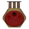 Resistencia Calentador 1500W 220V L=285mm