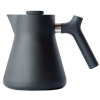 Matt Raven Black Kettle 1L & Tea Steeper
